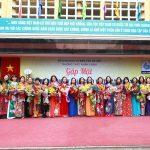 Trường THPT Nhân Chính rực rỡ cờ hoa trong lễ khai giảng năm học 2019 – 2020