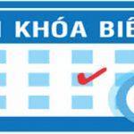 Thời khóa biểu giáo viên HKII năm học 2019 – 2020 áp dụng từ ngày 30 tháng 12 năm 2019