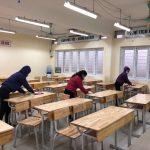 Trường THPT Nhân Chính tập huấn công tác phòng chống dịch Covid-19