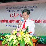 gặp mặt chào mừng ngày nhà giáo Việt Nam 20/11/2020 niềm tự hào về một ngôi trường thầy cô thi đua dạy tốt, trò thi đua học giỏi